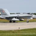 McDonnell Douglas F/A-18C Hornet Switzerland Air Force J-5021
