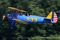 Boeing E75 Stearman Aéro Vintage Academy N66557