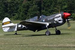 Curtiss P-40N Kittyhawk F-AZKU