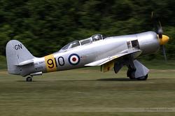 Hawker Sea Fury T.20 WG655 / G-CHFP
