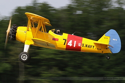 Boeing PT-13 Kaydet F-AZJR