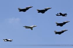 Formation Corsair, Rafale, Falcon 10Mer & Paris