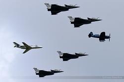 Formation Corsair, Rafale & Falcon 10Mer