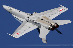 McDonnell Douglas F/A-18C Hornet Switzerland Air Force J-5020