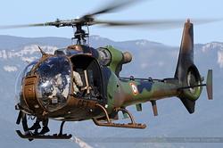 Aérospatiale SA-342L1 Gazelle Gatling Armée de Terre 4225 / GET / F-MGET