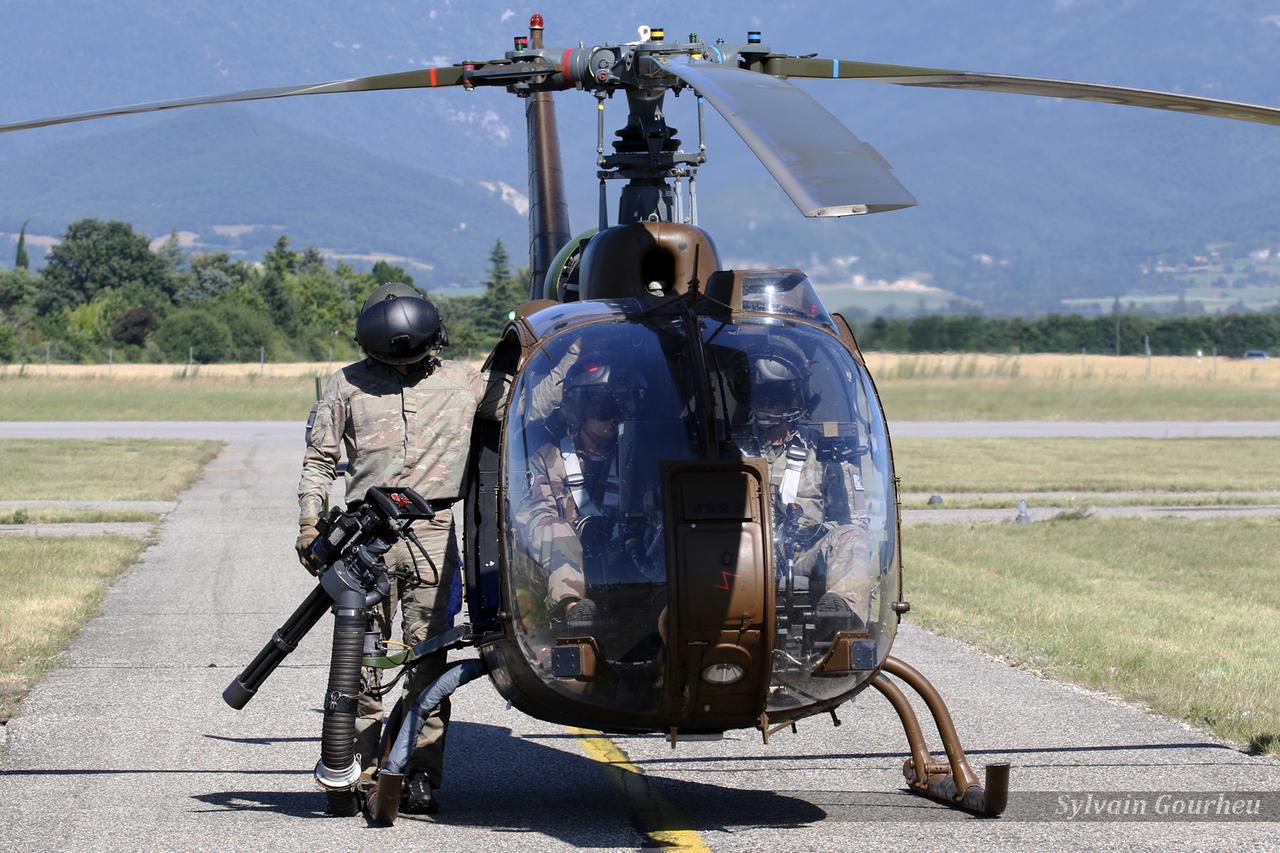 Aérospatiale SA-342L1 Gazelle Gatling Armée de Terre 4225 / GET / F
