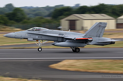 McDonnell Douglas F-18C Hornet Finland Air Force HN-435 / 1443