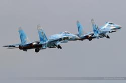 Sukhoi Su-27 Ukrainian Air Force 71 Blue & 58 Blue