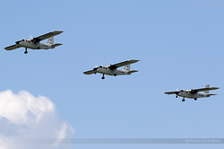 Britten-Norman BN-2A-27 Islander  INCAS - Institutul National de Cercetari Aerospatiale YR-BNR, YR-BNM & YR-BNN