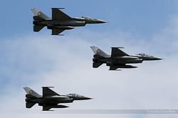 General Dynamics F-16AM Fighting Falcon Romania Air Force 1607, 1608 & 1609