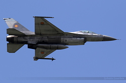 General Dynamics F-16AM Fighting Falcon Romania Air Force 1605