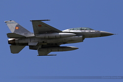 General Dynamics F-16BM Fighting Falcon Romania Air Force 1611