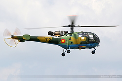 IAR IAR-316B Alouette III Romania Air Force 72