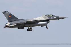 General Dynamics F-16AM Fighting Falcon Romania Air Force 1608