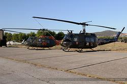 Bell UH-1H Huey Hellenic Army ES611 & ES658
