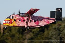 Short SC-7 Skyvan 3-100 Pink Aviation OE-FDN