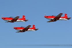 Pilatus PC-7 Switzerland Air Force A-929, A-916 & A-931