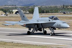 McDonnell Douglas EF-18M Hornet Spain Air Force C.15-48 / 12-06