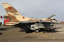 General Dynamics F-16C Fighting Falcon Royal Moroccan Air Force MR-06 / 08-8006