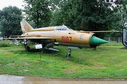 Mikoyan-Gurevich MiG-21MF Polish Air Force 9107