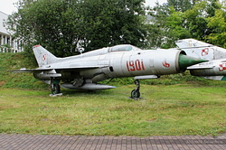 Mikoyan-Gurevich MiG-21PF Polish Air Force 1901