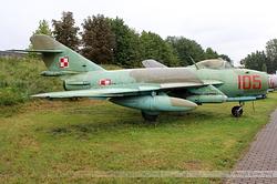 PZL-Mielec Lim-6 Polish Air Force 105