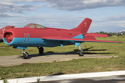 Mikoyan-Gurevich MiG-19P Russian Air Force 11 Blue