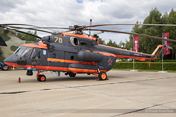 Mil Mi-8AMTSh Hip Russian Air Force RF-04508 / 78 Yellow