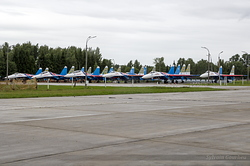 "Sukhoi Su-27 Flanker Russian Air Force ""Russian Knights"""