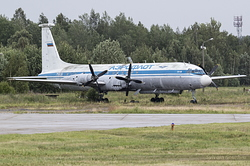 Ilyushin IL-18 Russian Air Force CCCP-75926