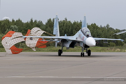 Sukhoi Su-30SM Flanker-C Russian Air Force RF-81770 / 59 Red