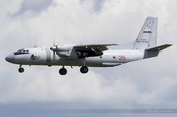 Antonov An-26 Russian Air Force RF-90321 / 35 Red