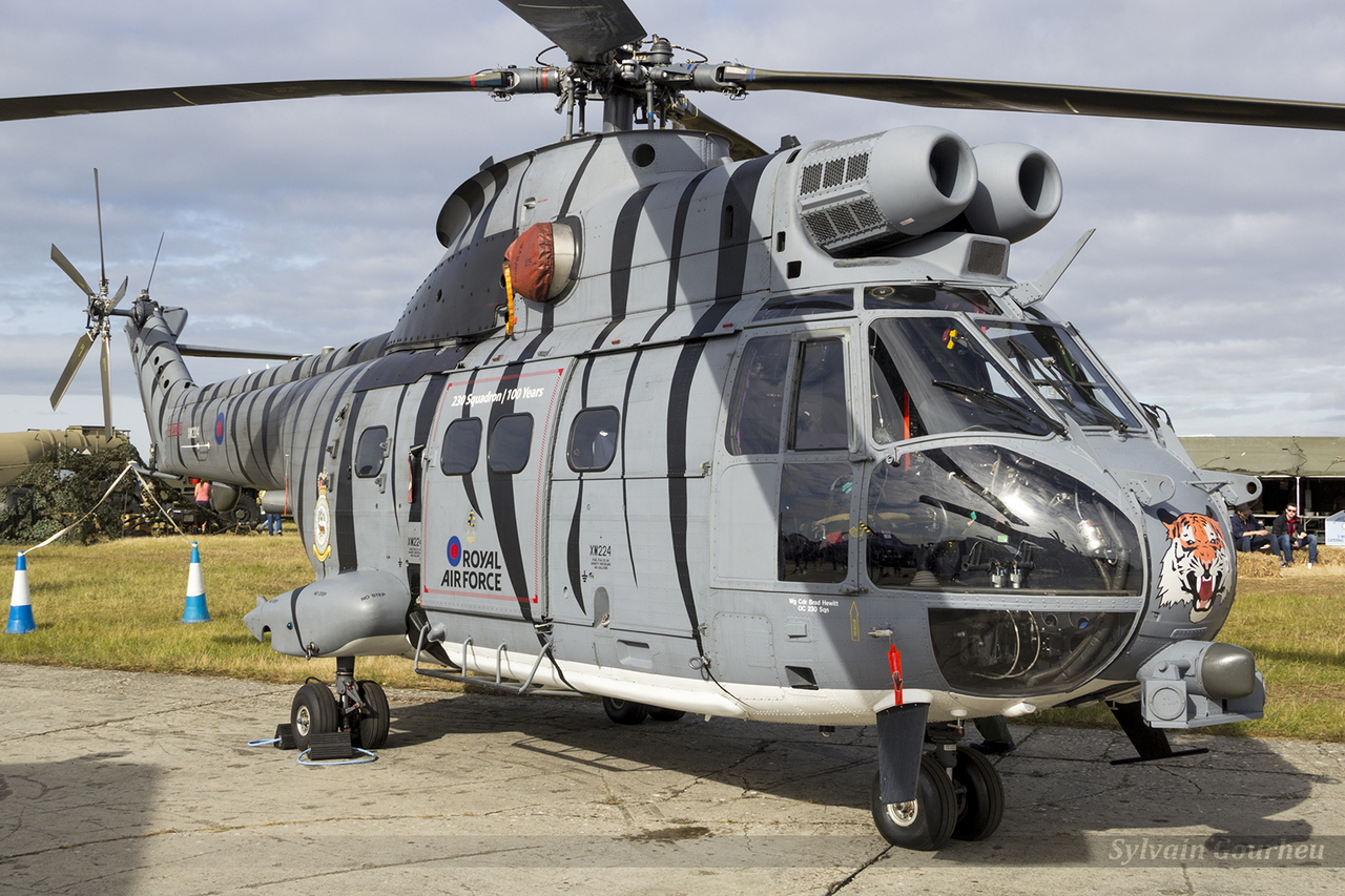 Aerospatiale SA-330E Puma HC2 Royal Air Force XW224