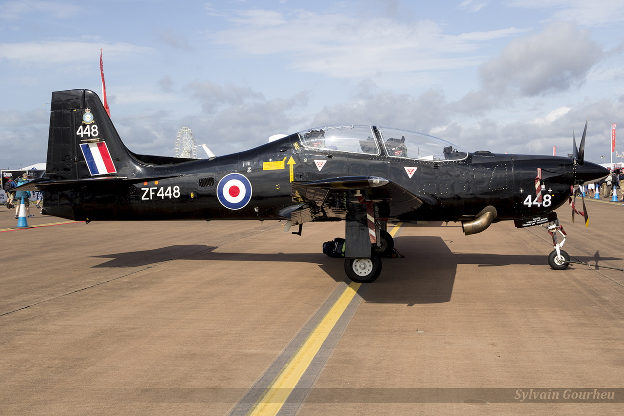 Embraer EMB-312 Tucano T1 Royal Air Force ZF448