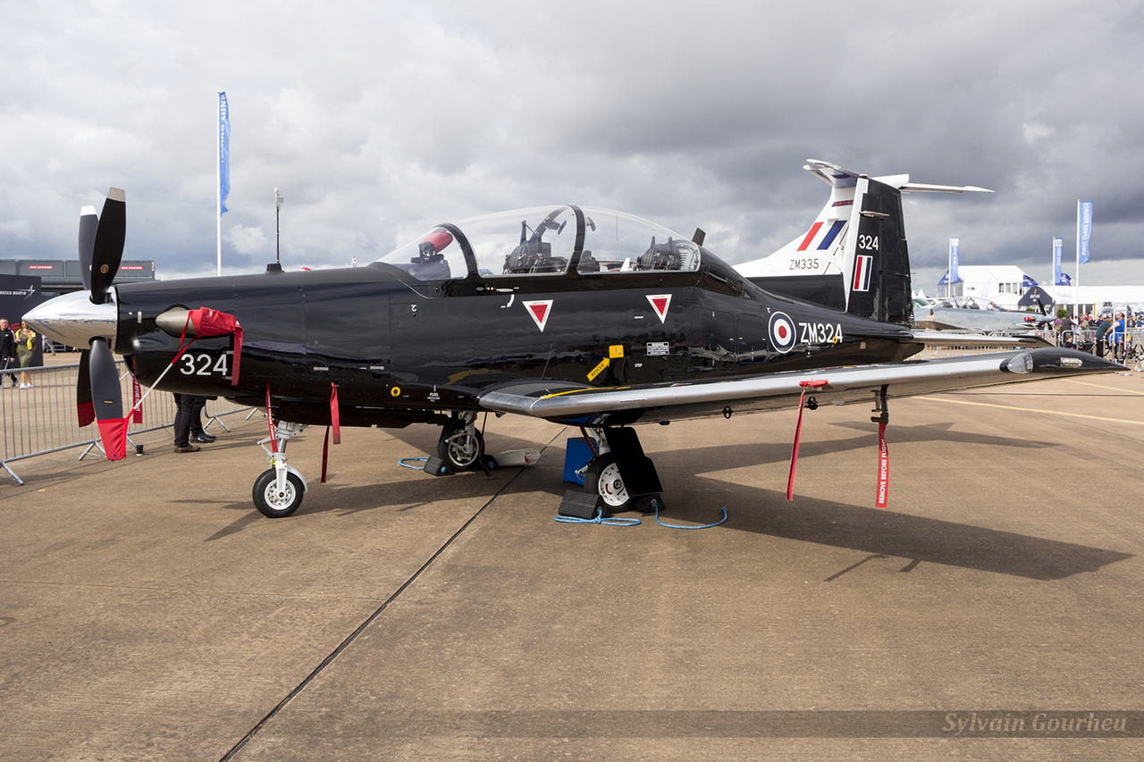 Beechcraft T-6C Texan Royal Air Force ZM324
