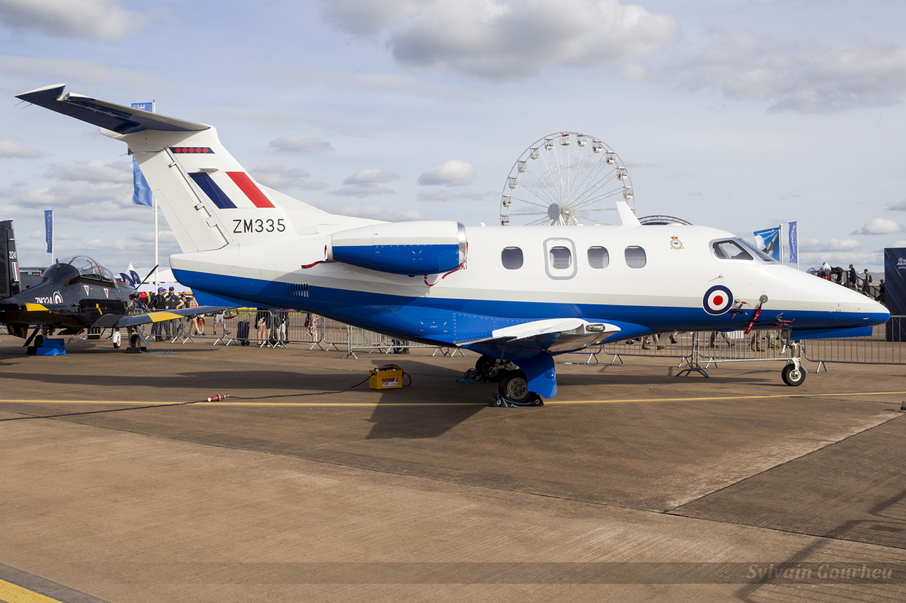 Embraer 500 Phenom 100E Royal Air Force ZM335