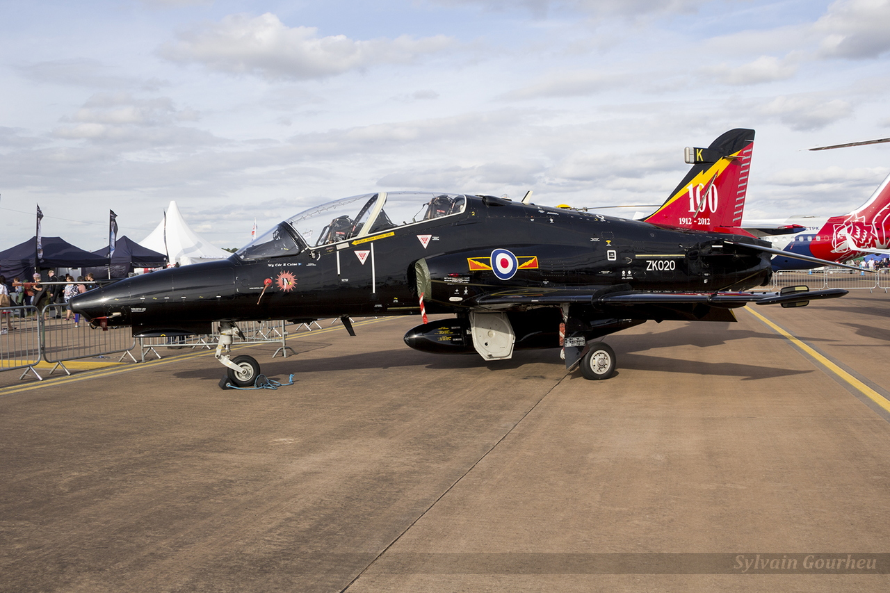 BAE Systems Hawk T2 Royal Air Force ZK020 / K
