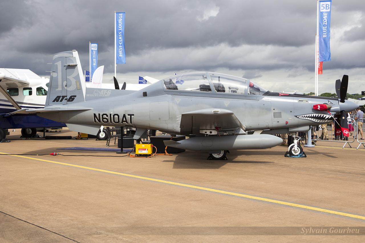 Beechcraft AT-6B Texan II N610AT
