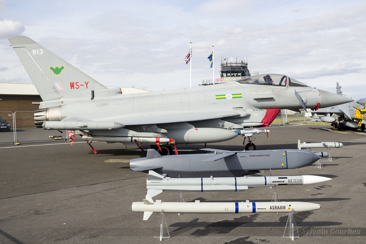 Eurofighter EF-2000 Typhoon FGR4 Royal Air Force ZJ913