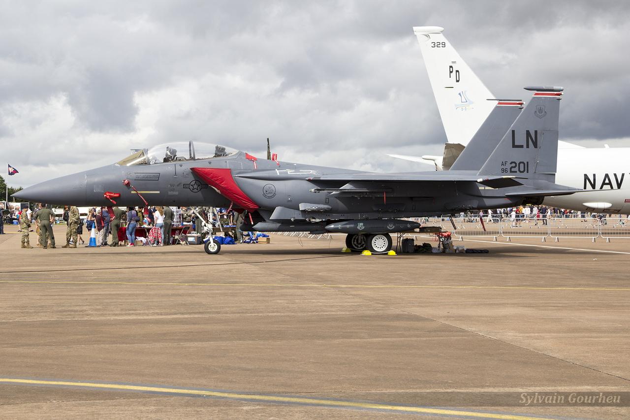 McDonnell Douglas F-15E Strike Eagle United States Air Force 96-0201 / LN