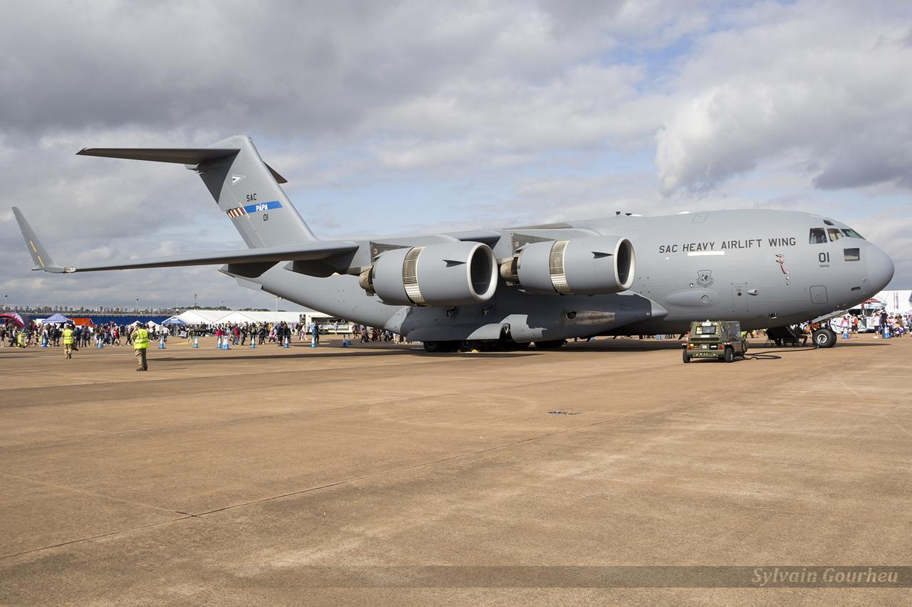 McDonnell Douglas C-17 Globemaster III Luxembourg NATO 01