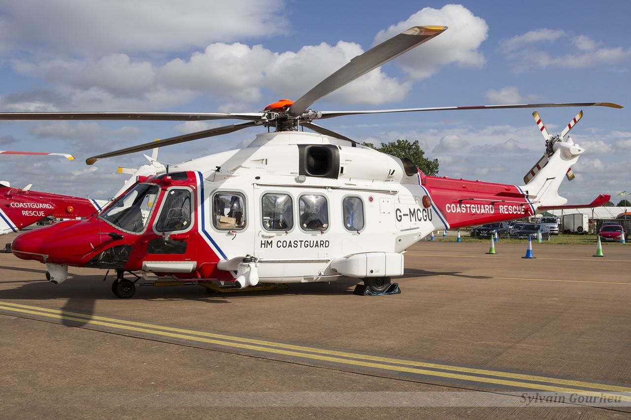 Agusta-Westland AW-189 HM Coastguard Rescue G-MCGU