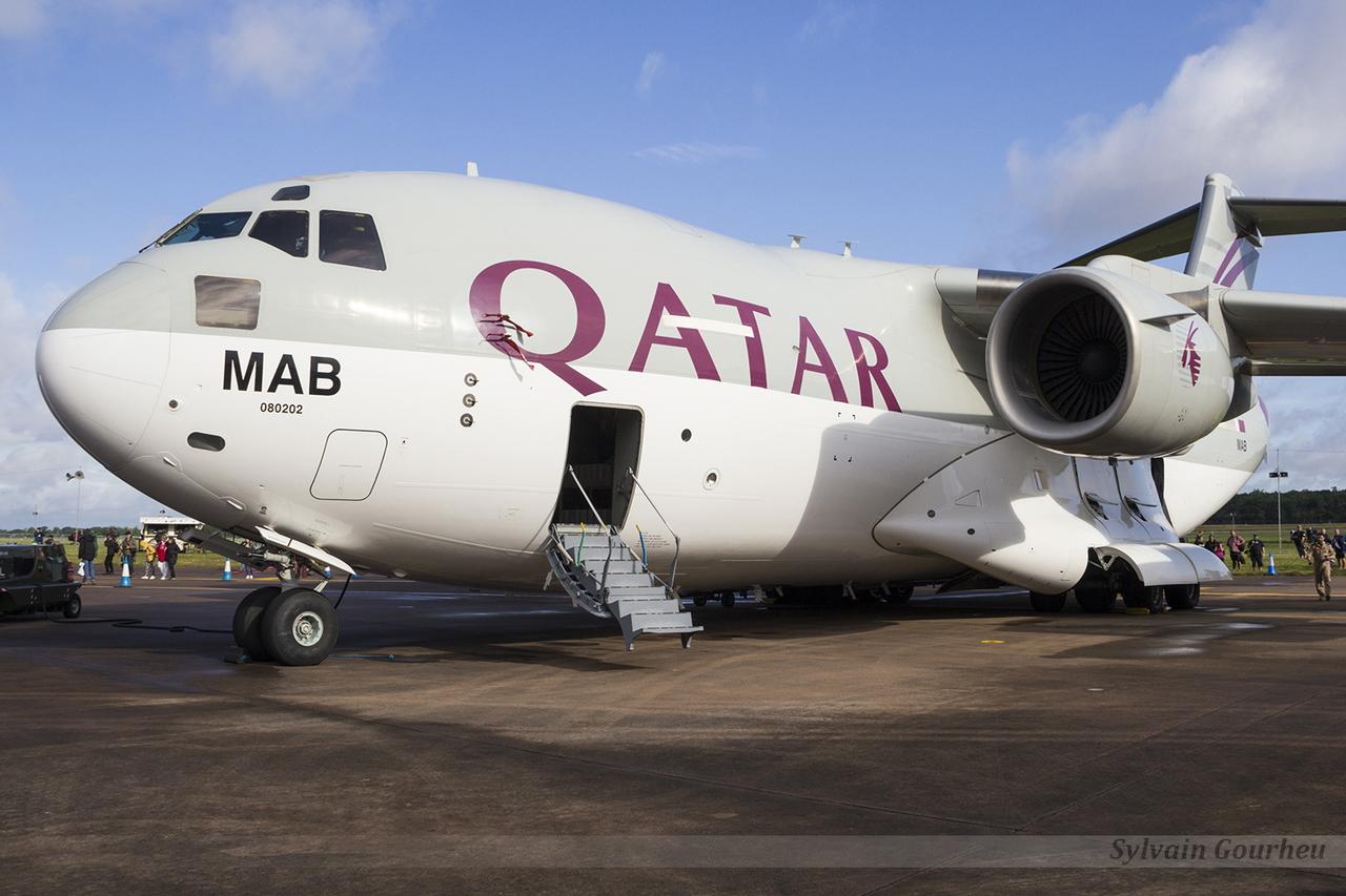 McDonnell Douglas C-17A Globemaster III Qatar Emiri Air Force A7-MAB