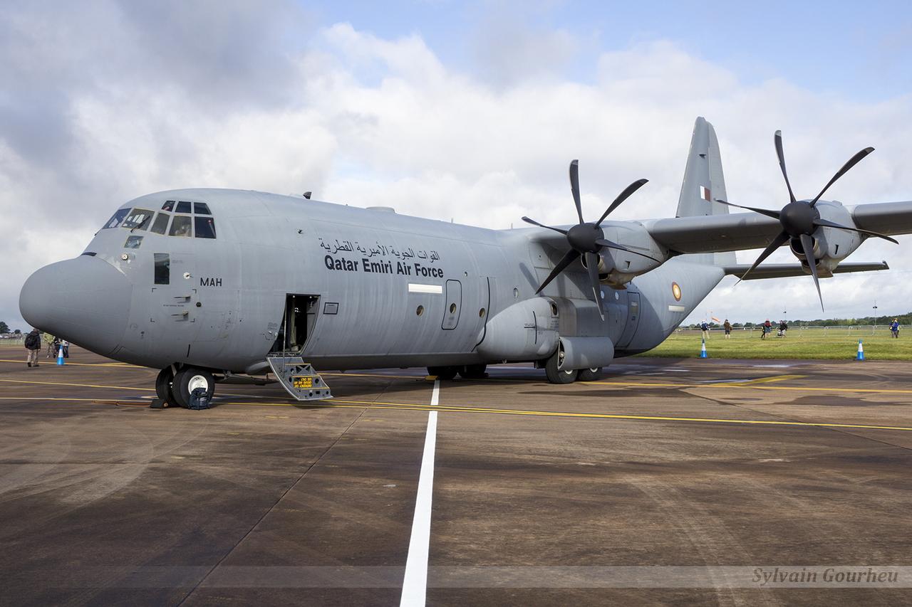 Lockheed C-130J-30 Hercules Qatar Emiri Air Force 211 / MAH