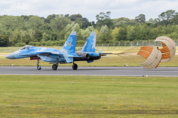 Sukhoi Su-27P Ukrainian Air Force 39 Blue