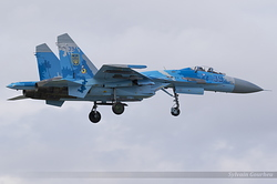 Sukhoi Su-27P Ukrainian Air Force 39 Blue