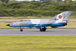 Mikoyan-Gurevich MiG-21MF-75 Romanian Air Force 6824