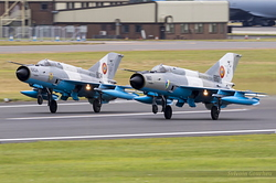 Mikoyan-Gurevich MiG-21MF-75 Romanian Air Force 6807 & 6824