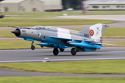 Mikoyan-Gurevich MiG-21MF-75 Romanian Air Force 6807 & 6824