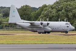 Lockheed C-130H Hercules Swedish Air Force 84008 / 848
